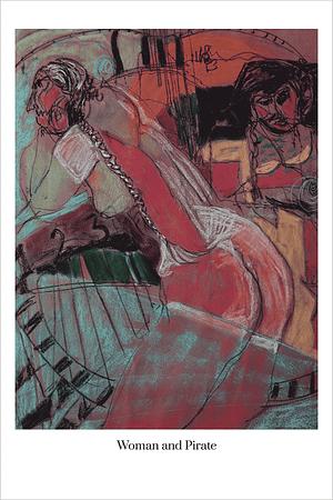 Woman and Pirate art print by Australian Visual Artist Valerie Kullack Bangalow Australia