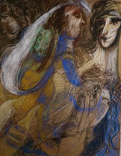 Untitled- valerie kullack- Australian Visual Artist- Northern Rivers- Drawing- Storytelling-