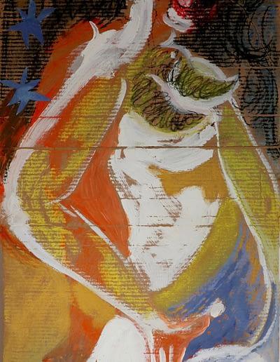 Dancing Pastel Valerie Kullack Visual Artist Bangalow Australia