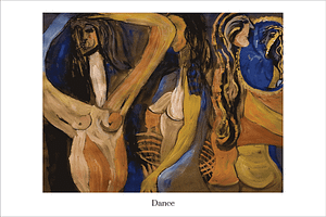 Dance Limited Edition Print Valerie Kullack Northern Rivers Australia