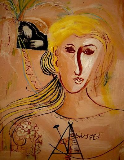 Moving On Oil on Canvas Valerie Kullack Visual Artist Bangalow Australia