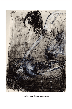 Subconscious Woman art print by Australian Visual Artist Valerie Kullack Bangalow Australia